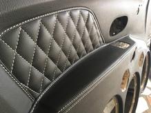 Монолитные дверные карты  Renault Logan 20*20*20*рупор