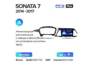Магнитола Teyes CC2 Plus 3-32 Hyundai Sonata 7 LF 2015-2017  9.0