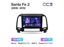 """Магнитола Teyes CC3 4-64 Hyundai Santa Fe 2 2006 — 2012 9.0"""""""