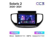 """Магнитола Teyes CC3 4-64 Hyundai Solaris 2 2020 — 2021 9.0"""""""