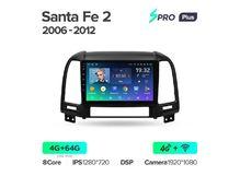 "Магнитола Teyes SPRO Plus 4-64 Hyundai Santa Fe 2 2006 — 2012 9.0"""